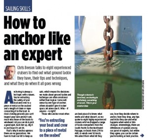 How to anchor like an expert