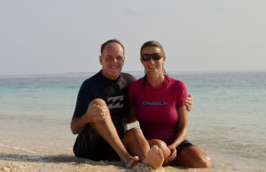 Three years celebrated in the Maldives
